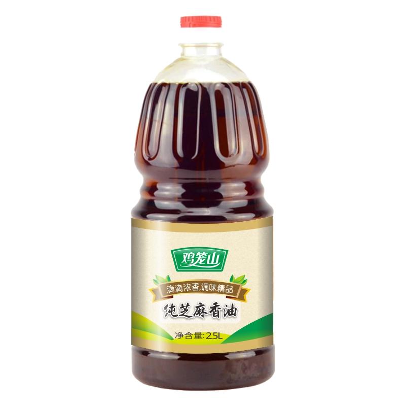雞籠山純正芝麻油2.5L