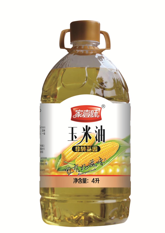 家壹味 玉米油4L