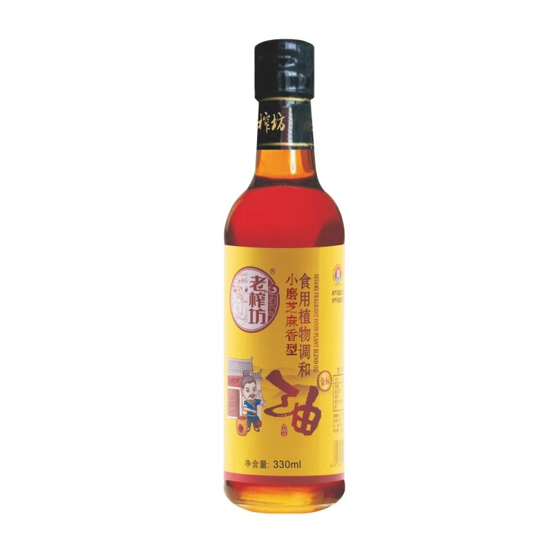 老榨坊 小磨芝麻香型食用植物調和油(圖1)
