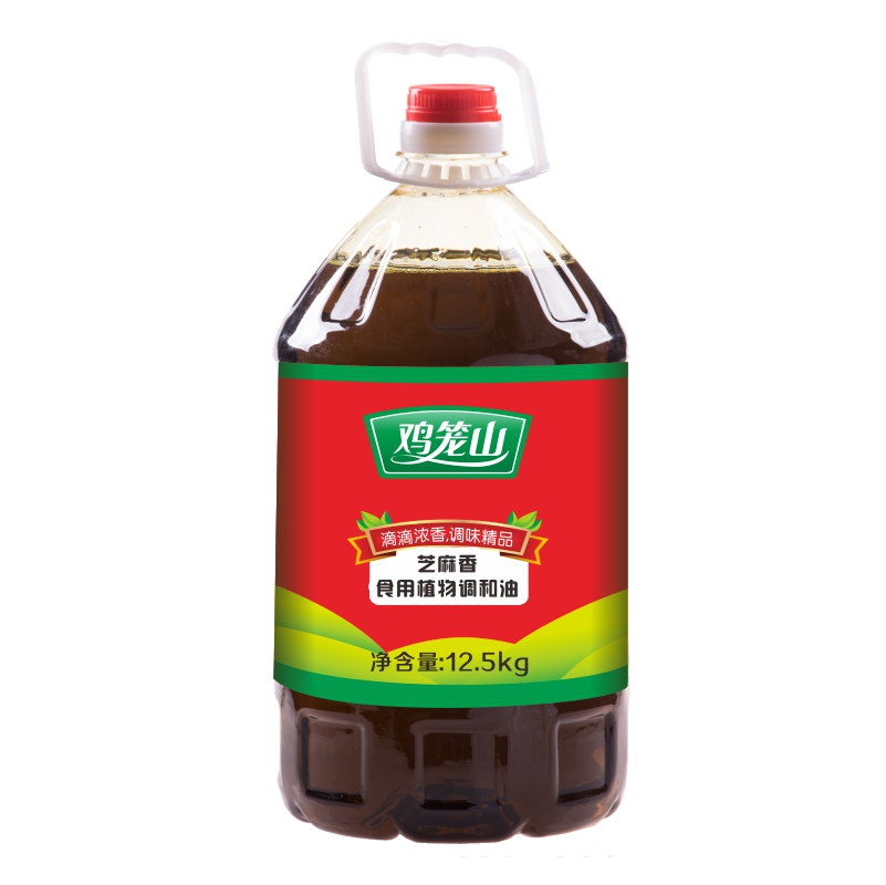 雞籠山芝麻調和油12.5kg(圖1)